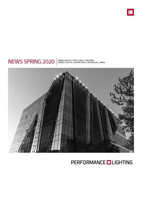 Performance in Lighting NEWS SPRING 2020