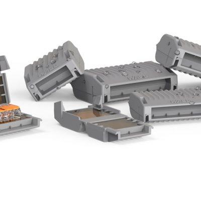 WAGO boîtes de gel pour connecteurs rapide